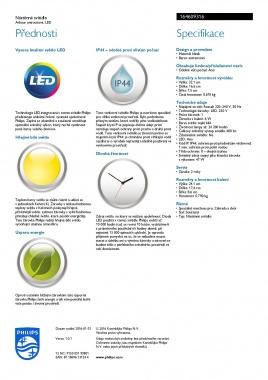 Venkovní svítidlo nástěnné LED 16460/93/16-7