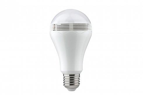 Chytrá LED žárovka s reproduktorem 5W E27 opál - ovládání přes Bluetooth - PAULMANN