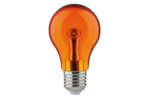 LED žárovka 1W E27 oranžová - PAULMANN