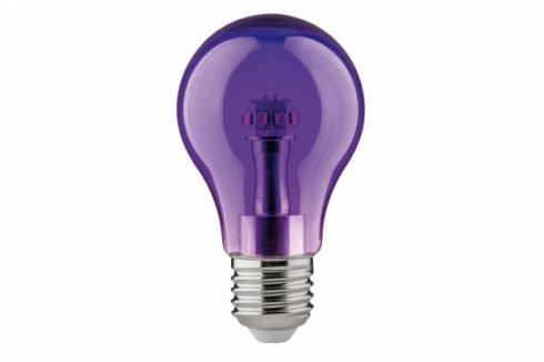 LED žárovka 1W E27 Violett - PAULMANN