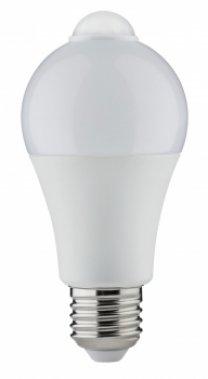 LED žárovka s pohyb.senzorem 6,5W E27 teplá bílá - PAULMANN