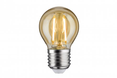 LED Retro žárovka 4,5W E27 zlatá teplá bílá stmívatelné - PAULMANN