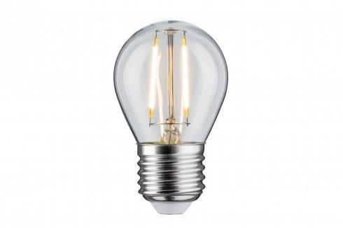 LED Retro žárovka 4,5W E27 čirá teplá bílá stmívatelné - PAULMANN
