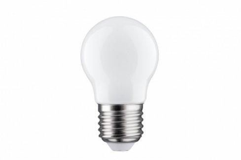 LED Retro žárovka 4,5W E27 opál teplá bílá stmívatelné - PAULMANN