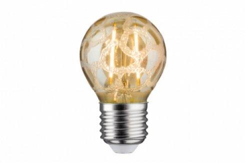 LED Retro žárovka 4,5W E27 Krokoeis zlatá teplá bílá stmívatelné - PAULMANN