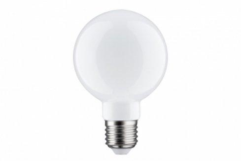 LED Retro žárovka Globe 80 6W E27 opál teplá bílá stmívatelné - PAULMANN