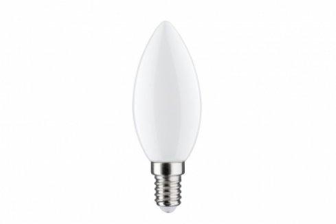 LED Retro žárovka 4,5W E14 svíčka opál teplá bílá stmívatelné - PAULMANN