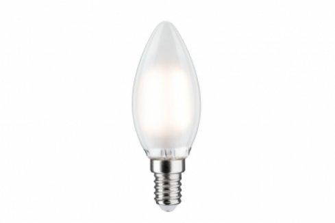 LED Retro žárovka 4,5W E14 satin teplá bílá stmívatelné - PAULMANN