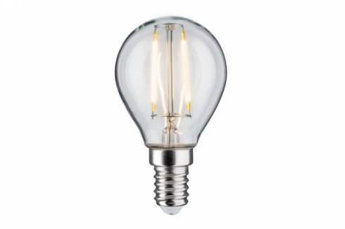 LED Retro žárovka 4,5W E14 čirá teplá bílá stmívatelné - PAULMANN