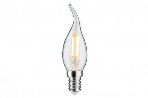LED Retro žárovka Cosylight 4,5W E14 čirá teplá bílá stmívatelné - PAULMANN