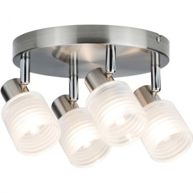 Spotové svítidlo LED Helix 4-ramenné kartáč.nikl vč. 4x2,2W G9 - PAULMANN