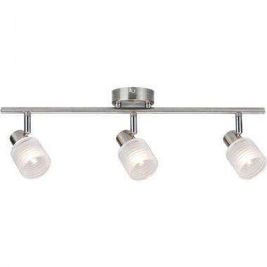 Spotové svítidlo LED Helix 3-ramenné kartáč.nikl vč. 3x2,2W G9 - PAULMANN