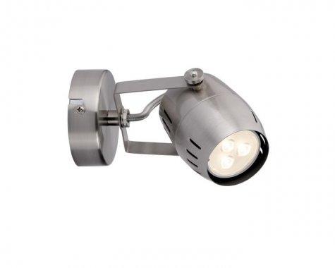 Spotové svítidlo LED 1x3,5W Gamma 230V GU10 kartáč.nikl - PAULMANN