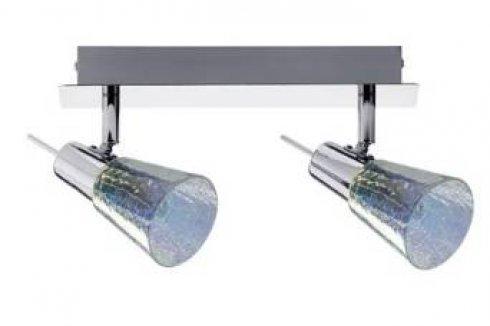 Spotové svítidlo halogen 2x42W Omikron 230V, G9, chrom - PAULMANN