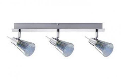 Spotové svítidlo halogen 3x42W Omikron 230V, G9, chrom - PAULMANN