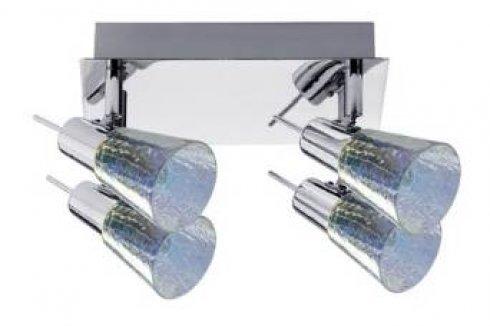 Spotové svítidlo halogen 4x42W Omikron 230V, G9, chrom - PAULMANN