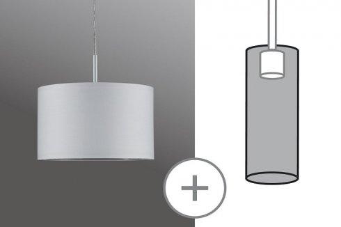 Látkové stínidlo pro DecoSystems Tessa bílá max. 50W ? 25cm P 60326