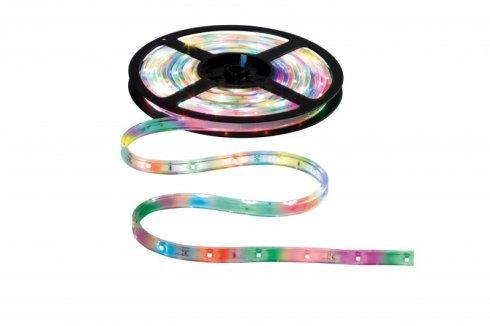 WaterLED pásek Motion Color sada 4,8m 9,8W, funkce výměny barev - PAULMANN