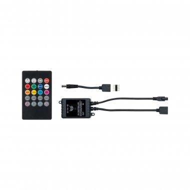 YourLED RGB zvukový senzor max. 60W černá - PAULMANN