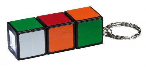 Svítidlo - baterka Magic Cube LED Multicolor - přívěsek na klíče - PAULMANN
