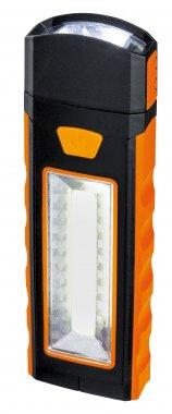 Svítidlo - baterka Work Light oranžová/černá s magnetem a háčkem - PAULMANN