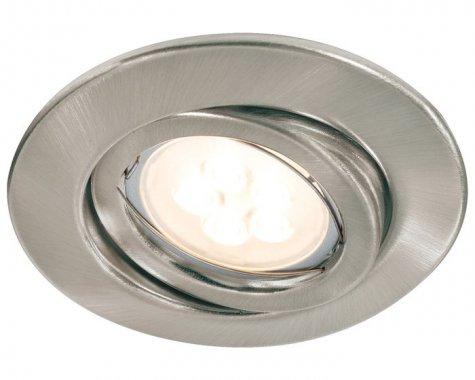 Zápustné svítidlo Quality Line 6,5W LED 3ks kartáč.železo výklop - PAULMANN