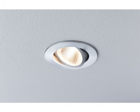 Zápustné svítidlo Premium Line Daz 1x13W LED kartáč.hliník výklo - PAULMANN