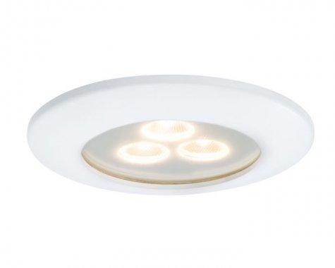 Zápustné svítidlo Premium Line LED Pearly matná bílá - PAULMANN