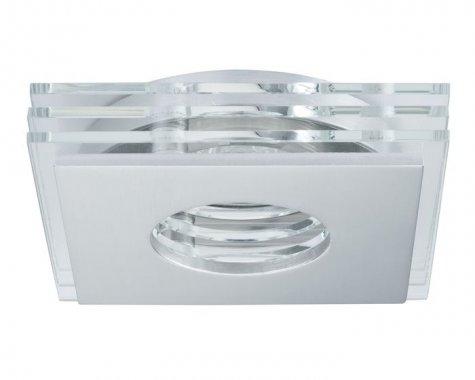 Zápustné svítidlo Premium Line Layer LED 3ks kartáč.hliník/sklo - PAULMANN