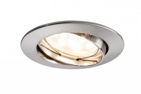 Zápustné svítidlo Premium Line Coin 6,8W LED kartáč.železo - PAULMANN