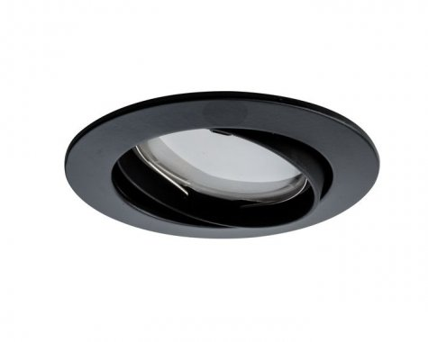 Zápustné svítidlo Premium Line Coin 6,8W LED 3ks matná černá - PAULMANN