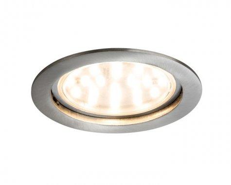 Zápustné svítidlo Premium Line Coin 14W LED kartáč.železo - PAULMANN