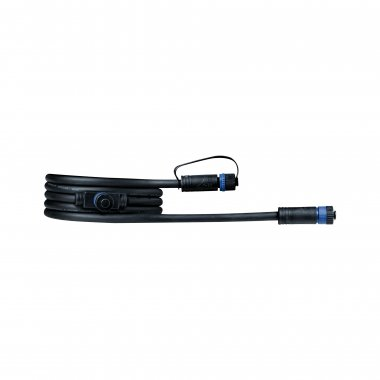 Plug&Shine konektor IP68 2m černá - PAULMANN