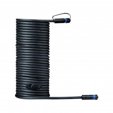 Plug&Shine konektor IP68 10m černá - PAULMANN