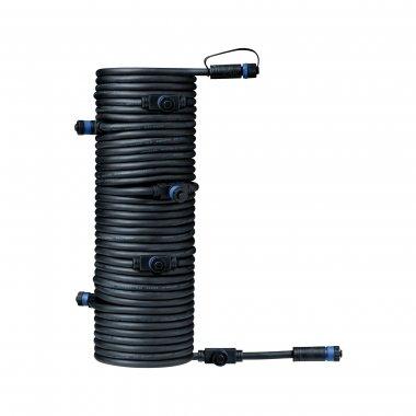 Plug&Shine konektor IP68 15m černá - PAULMANN