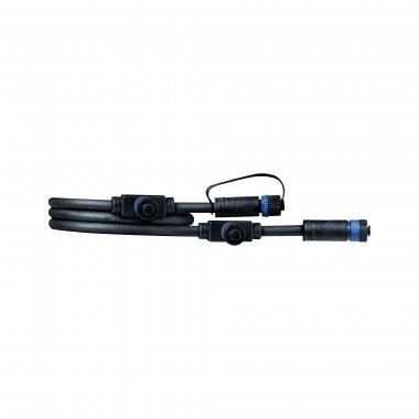 Plug&Shine konektor IP68 1m černá - PAULMANN