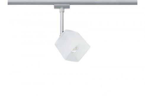 URail, LED-Spot, 3,5W, Quad 230V, matný chrom / bílá