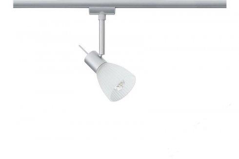 URail, LED-Spot, 3,5W, Phara 230V, matný chrom / bílá