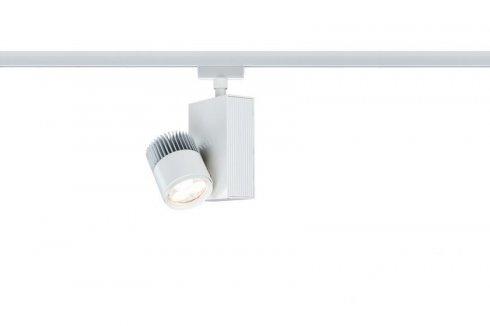 URail, LED-Spot, 1x9W, TecLed 230V, bílá