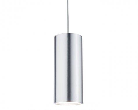 Závěsné svítidlo URail LED 1x6W Barrel 230V matný chrom / elox.h - PAULMANN
