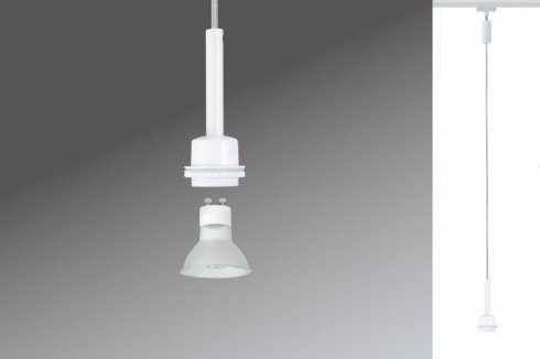 Závěsné svítidlo URail LED 1x3,5W DecoSystems 230V bílá - PAULMANN