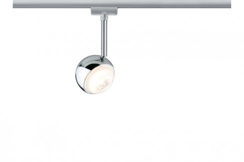 URail LED spotové svítidlo Capsule II 6W chrom matný stmívatelné - PAULMANN
