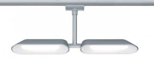 Spot Dipper pro kolejnicový systém URail 2x8W LED 2700K matný chrom - PAULMANN