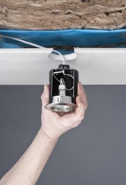 Zápustný hrnec pro zápustná svítidla hliník/zinek 35W 12V-1