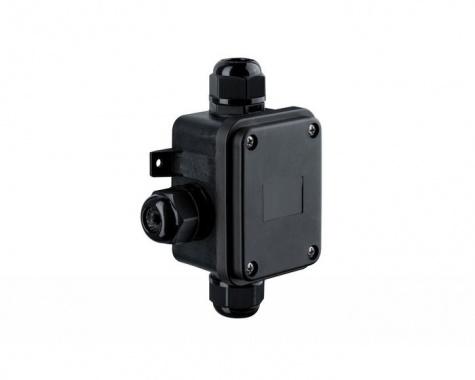 Instalační box pro 3 kabely černý IP68 P 237-1