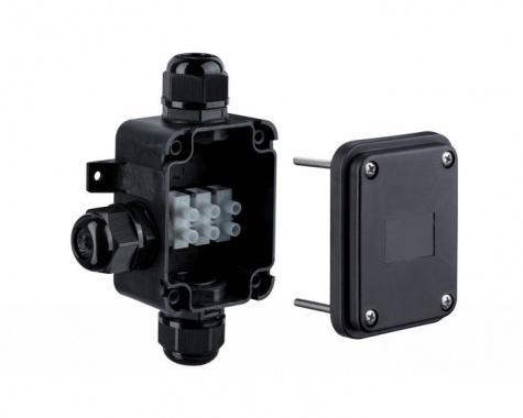Instalační box pro 3 kabely černý IP68 P 237-2