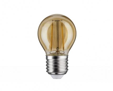 LED Retro žárovka 4,5W E27 zlatá teplá bílá stmívatelné - PAULMANN-2