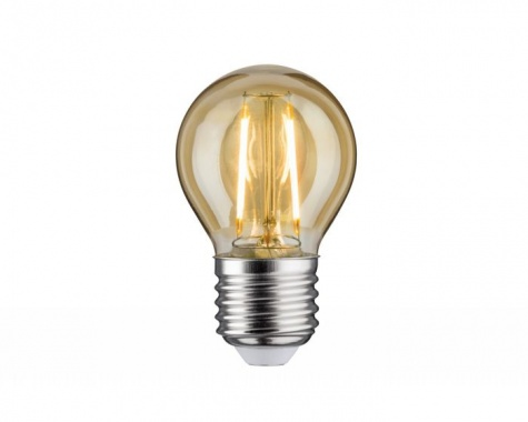 LED Retro žárovka 4,5W E27 zlatá teplá bílá stmívatelné - PAULMANN-4