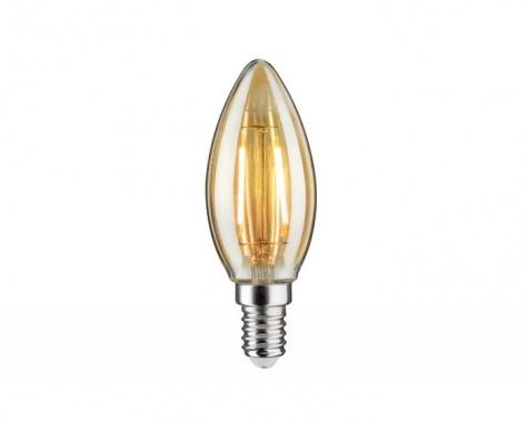 LED Retro žárovka 4,5W E14 zlatá teplá bílá stmívatelné - PAULMANN-1