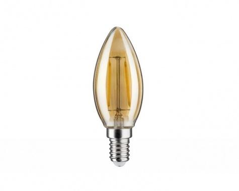 LED Retro žárovka 4,5W E14 zlatá teplá bílá stmívatelné - PAULMANN-2